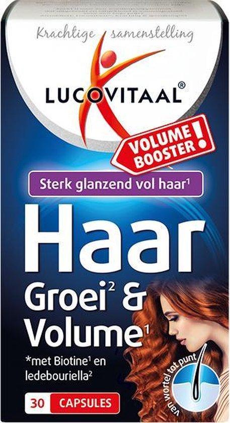 Lucovitaal Haar Groei & Volume Voedingssupplement - 30 Capsules