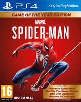 Cover van de game Marvels Spider-Man - Game of the Year edition - PS4