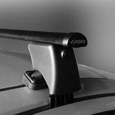 Dakdragers Renault Clio 5 deurs hatchback vanaf 2012 - Farad staal