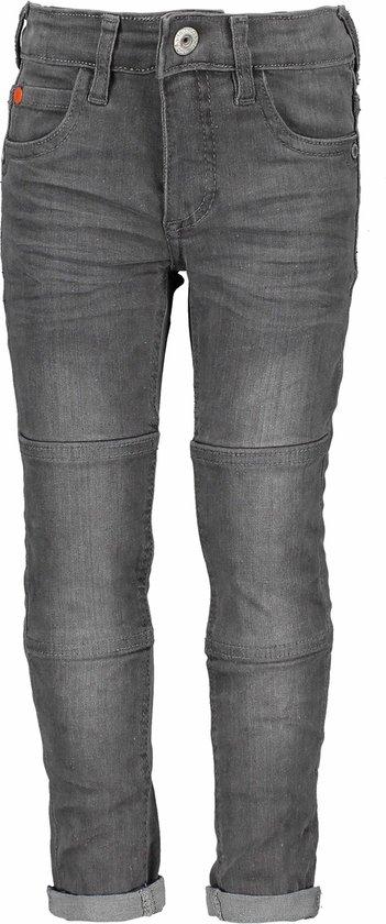 Tygo&Vito Jongens lange broeken Tygo&Vito T&v jeans skinny patches grijs 152