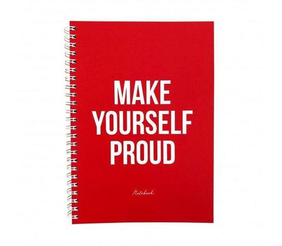 Notebook proud