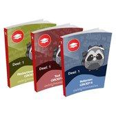 Oefenboeken - De Bijlesmeester - Groep 4 - Alle Onderdelen - Deel 1 - Cito - Oefenen - Kinderen - Boeken - Leren - School - Kinderen - Oefenschrift - Studeren - Leuke Teksten - Citotoets - LVS geschikt