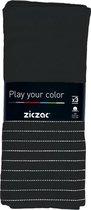 Ziczac - Keukenhanddoek 50*70 cm set 3, check, stripe black
