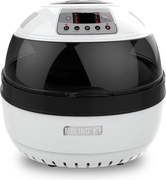 Molino Health Fryer - Hetelucht friteuse - Wit