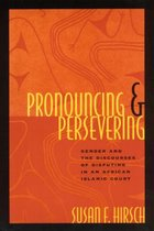 Pronouncing and Persevering