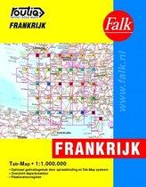 Routiq Frankrijk tab map