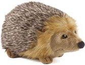 Pluche egel bruin knuffel 23 cm - Bosdieren knuffeldieren - Speelgoed voor kind