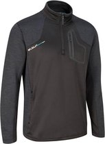 Evolve Half Zip Fleece Trui - Zwart