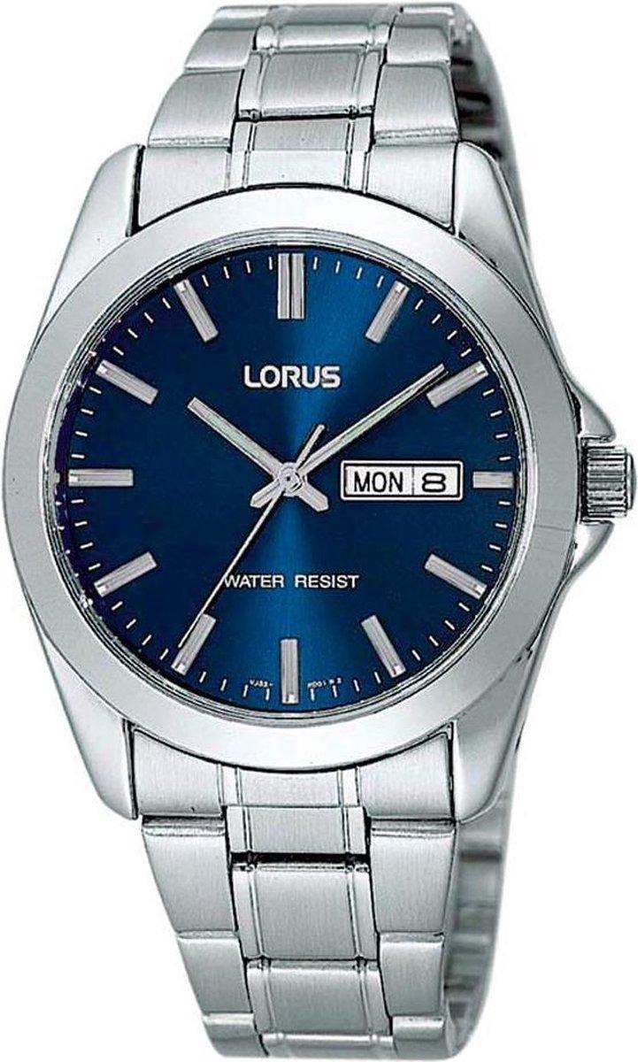Lorus RJ603AX9 horloge heren - zilver - edelstaal