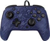 Faceoff Deluxe+ Nintendo Switch Controller - Blue Camo