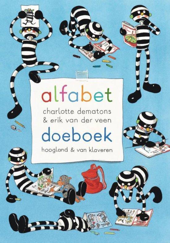 Boek cover Alfabet doeboek van Charlotte Dematons (Paperback)
