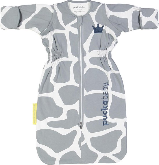 Puckababy Babyslaapzak Bag Newborn 0-6 maanden - 70 cm - alle seizoenen - Giraph Sky