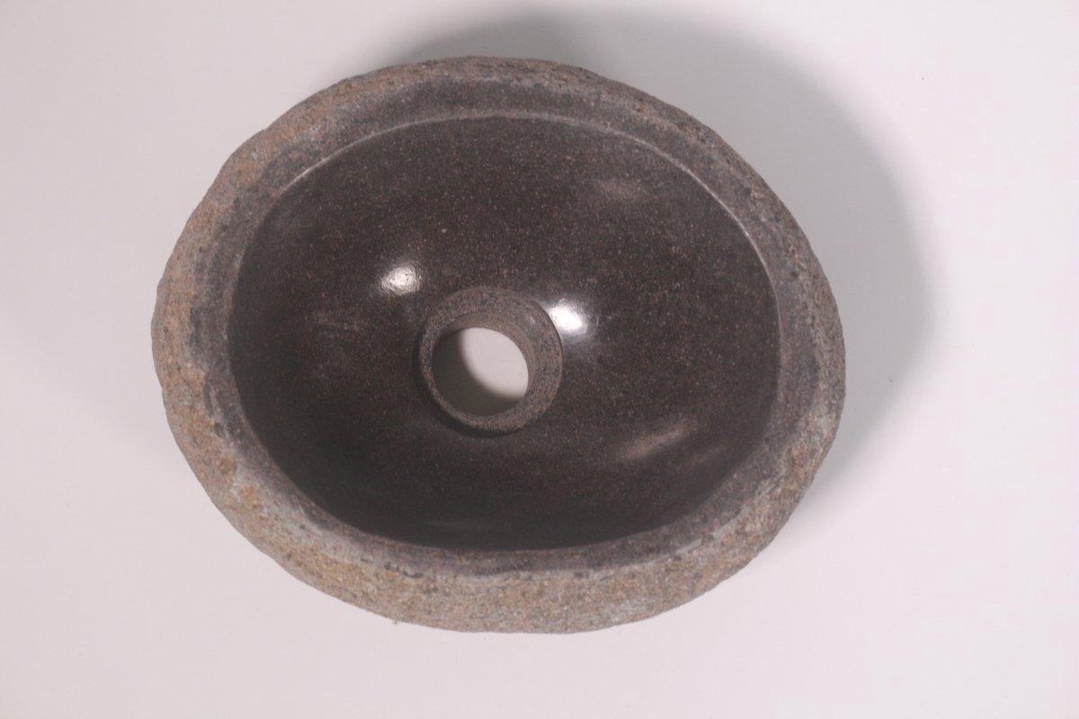 Natuurstenen waskom | DEVI-W21-254 | 27x22x13