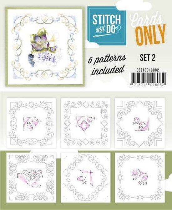Afbeelding van het spel Stitch & Do - Cards only - Set 2