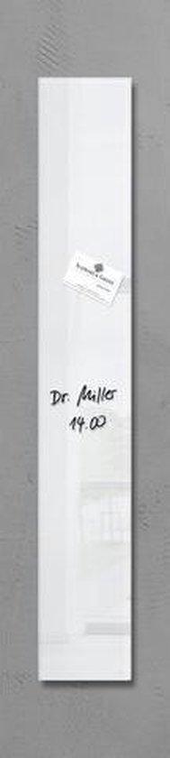 Afbeelding van Sigel Glazen Magneetbord Artverum Super-Wit (B X H) 12 Cm X 78 Cm Gl101