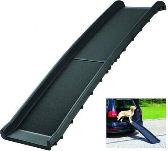 Trixie Car Ramp Loopplank Opvouwbaar Zwart - 156X40CM
