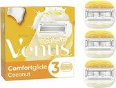 Gillette Venus Comfortglide Coconut Scheermesjes Voor Vrouwen - 3 Navulmesjes