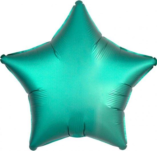 AMSCAN - Mintgroene aluminium ster ballon - Decoratie > Ballonnen