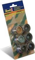 Revell 32340 Military Colours - Enamel Set Verf set