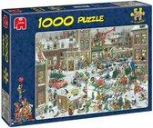 Jan van Haasteren Kerstmis puzzel - 1000 stukjes