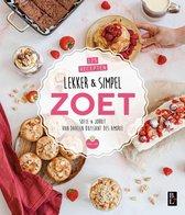 Boek cover Lekker & simpel zoet van Sofie Chanou (Paperback)