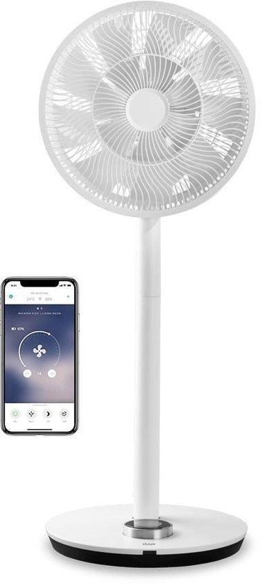 Duux Whisper Flex Smart Ventilator DXCF11 | Statiefventilator | Extreem Stil | WiFi + App | Wit