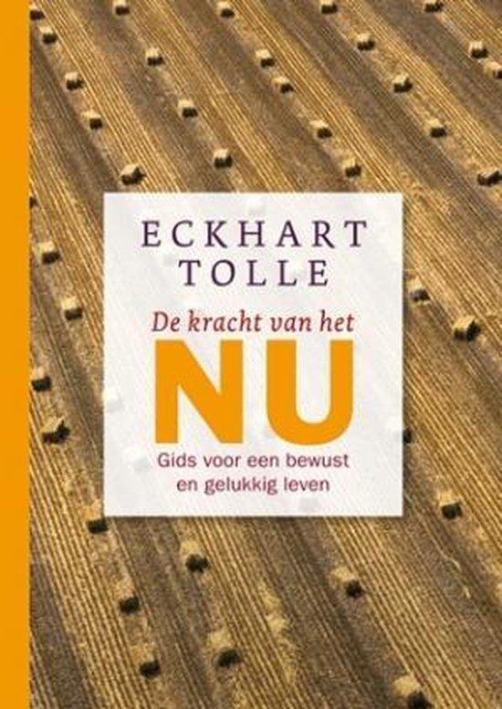 Boek cover De kracht van het NU van Eckhart Tolle (Hardcover)