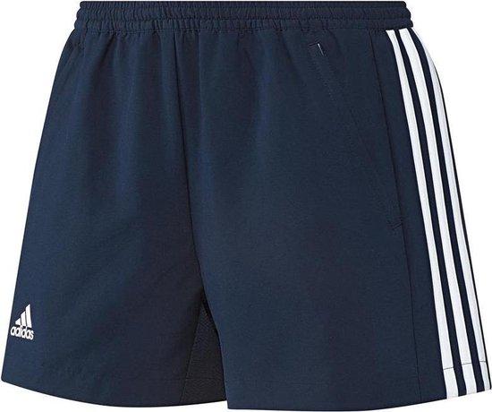 bol.com | Adidas T16 'Oncourt' Short Dames - Shorts - blauw ...
