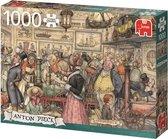 Afbeelding van Anton Pieck De Tentoonstelling - Puzzel 1000 stukjes