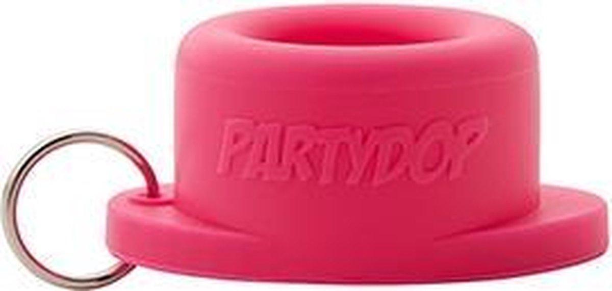 Universele Partydop - festival dop   Fluffy pink