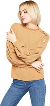 LOLALIZA Sweater met ballonmouwen Dames Sweater EU42