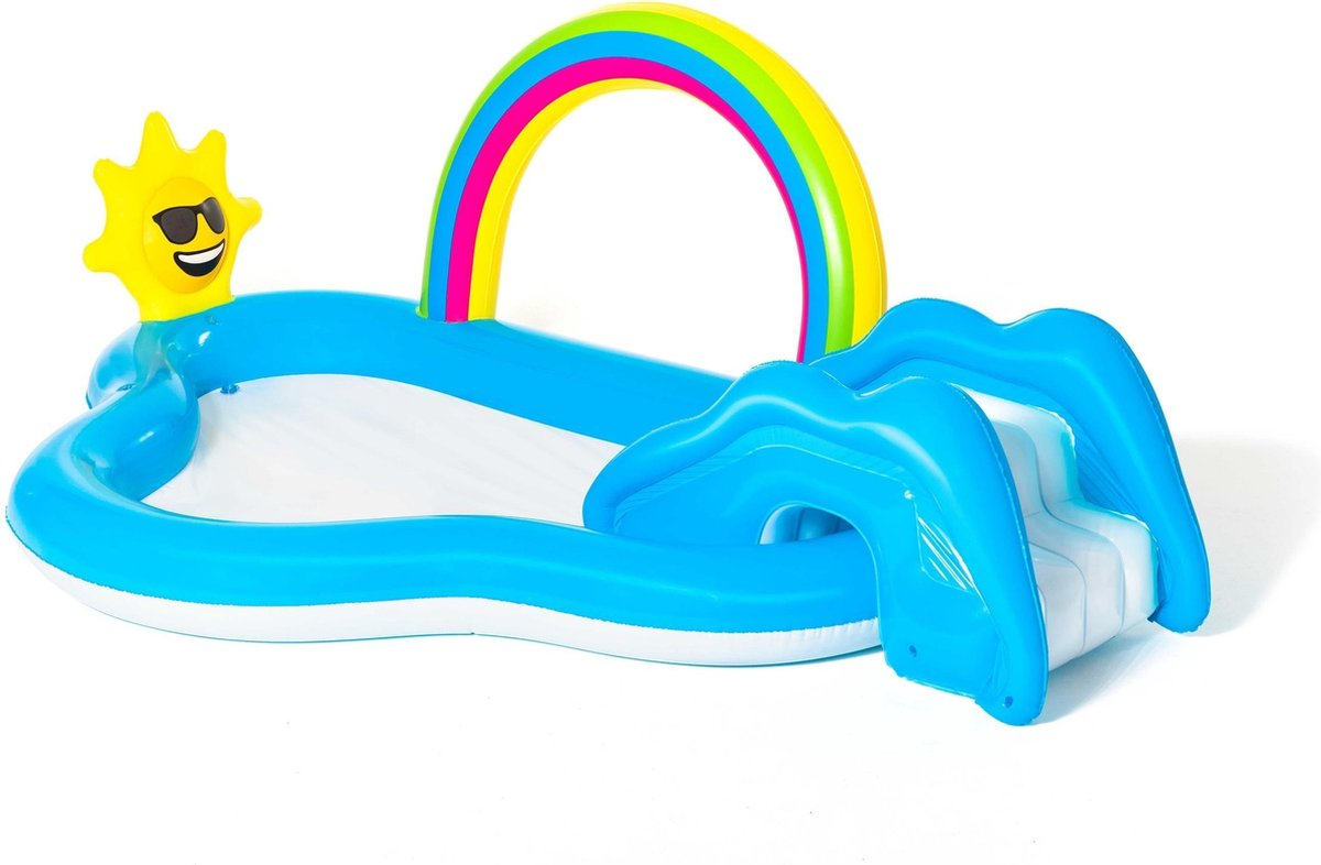 Bestway - Rainbow n' Shine Pool and Play Center - 2.57m x 1.45m x 91cm (53092)