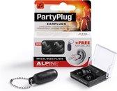 Alpine PartyPlug - Muziek oordoppen - Zwart - SNR 19 dB - 1 paar