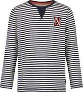 Noppies T-shirt Croppytown met streep