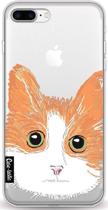 Apple iPhone 7 Plus / iPhone 8 Plus hoesje Little Cat Casetastic Smartphone Hoesje softcover case