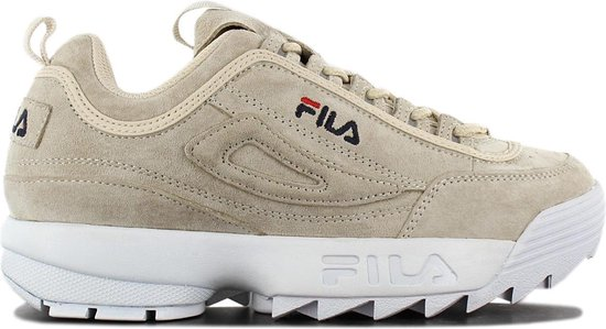 Fila Disruptor S Low 1010605.90R Dames Sneakers Sportschoenen Schoenen Grijs Maat EU 37 UK 3.5