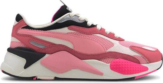 Puma RS-X3 Puzzle Sneakers Dames - Sportschoenen Roze - Maat 41