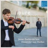 Pure - Works For Violin and Harpsichord By Bach, Corelli, Von Westhoff & Montanari
