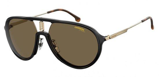 Carrera Eyewear Zonnebril 1026/s Piloot Unisex Zwart Met Bro