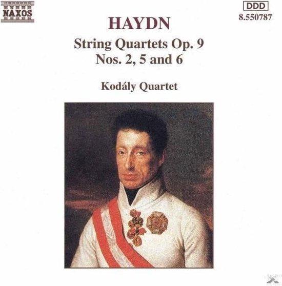 Haydn: String Quartets Op 9 Nos 2, 5 & 6 / Kodaly Quartet
