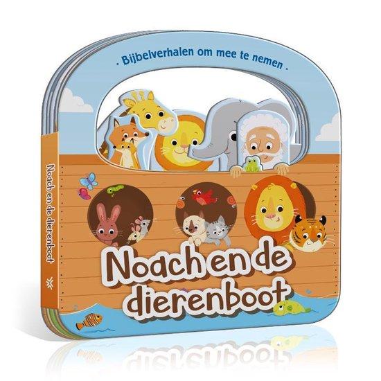 Boek cover Bijbelverhalen om mee te nemen  -   Noach en de dierenboot van Cecilie Fodor (Onbekend)