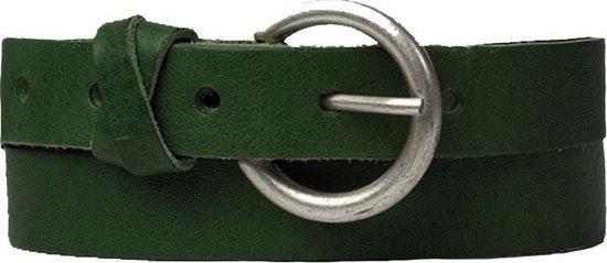 Cowboysbelt Riemen Belt 259132 Groen Maat:100