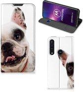 Motorola One Macro Hoesje maken Franse Bulldog