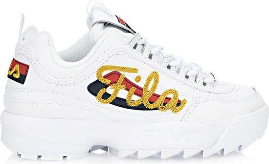 Fila - Dames Sneakers Disruptor II Signature - Wit - Maat 40