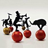 Lufdesign set van 18 cocktailprikkers Circus Pick