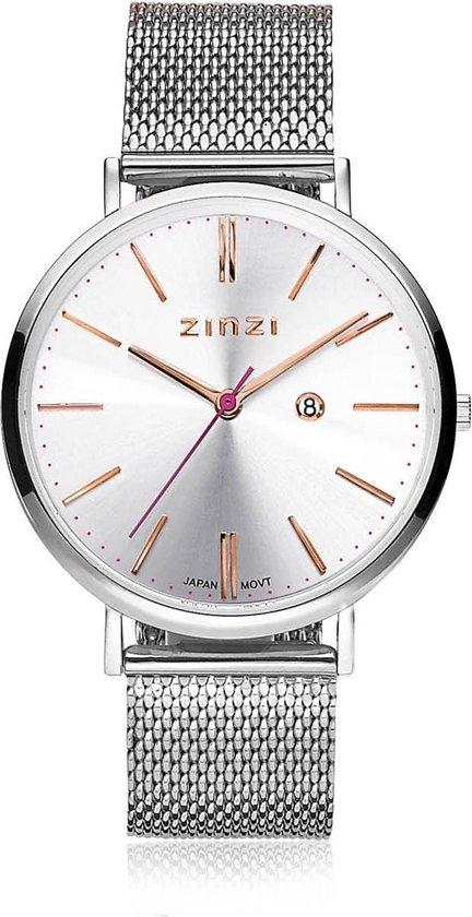 Zinzi horloge ZIW412M 38mm + gratis Zinzi armbandje