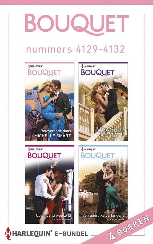 Boek cover Bouquet e-bundel nummers 4129 - 4132 van Michelle Smart (Onbekend)