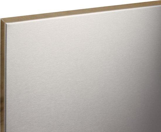 Afbeelding van EKM Magneetbord RVS 60x45 - Beschrijfbaar - Frameless