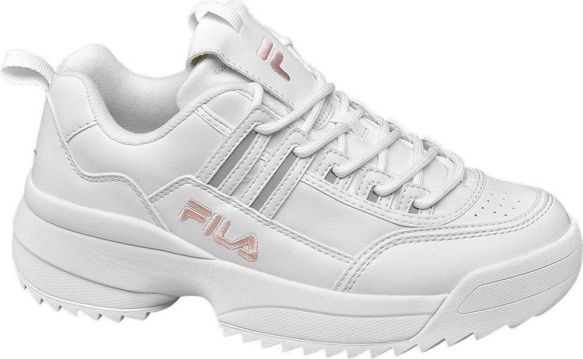 Fila Dames Witte chunky sneaker - Maat