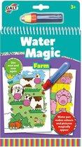 Galt Waterkleurboek Farm Junior 26 X 14 Cm 2-delig